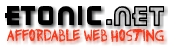 Tonic Affordable Web Hosting
